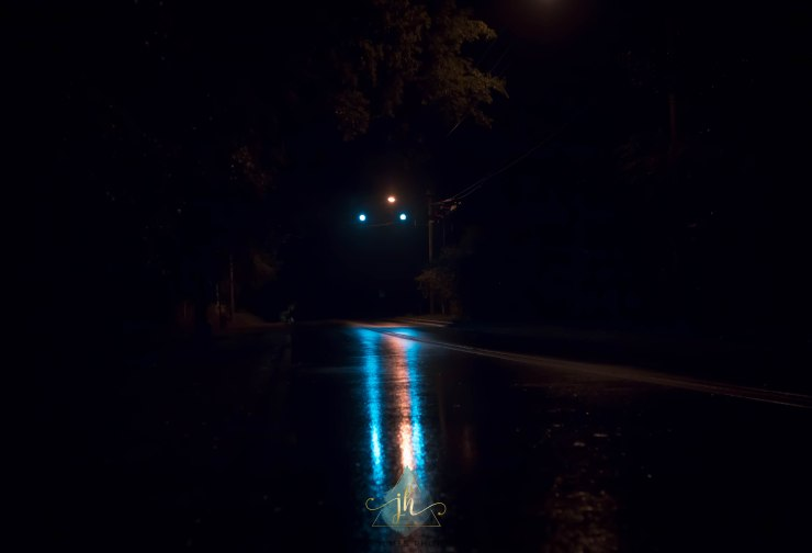 Rain Roads & Red Lights - Jacque Holmes Photography